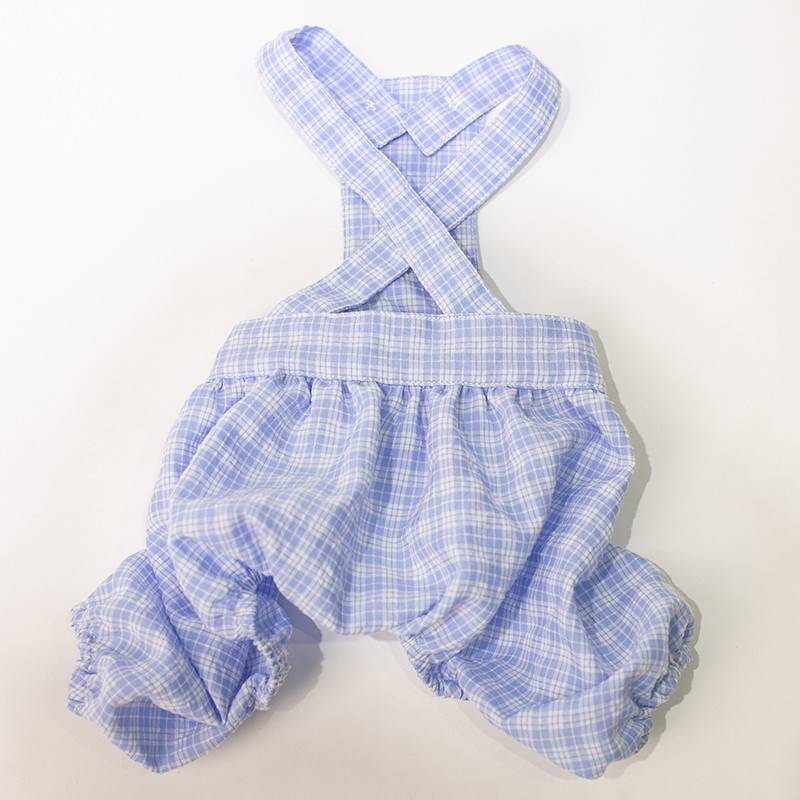 puppy jumpsuit set summer clothes dogs (4)