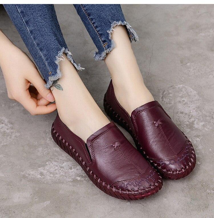 zapatos comodos y suaves de mujer