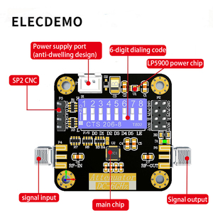 Image 3 - HMC624A מודול דיגיטלי RF מחליש מודול DC ~ 6GHz 0.5dB צעד דיוק עד 31.5dB