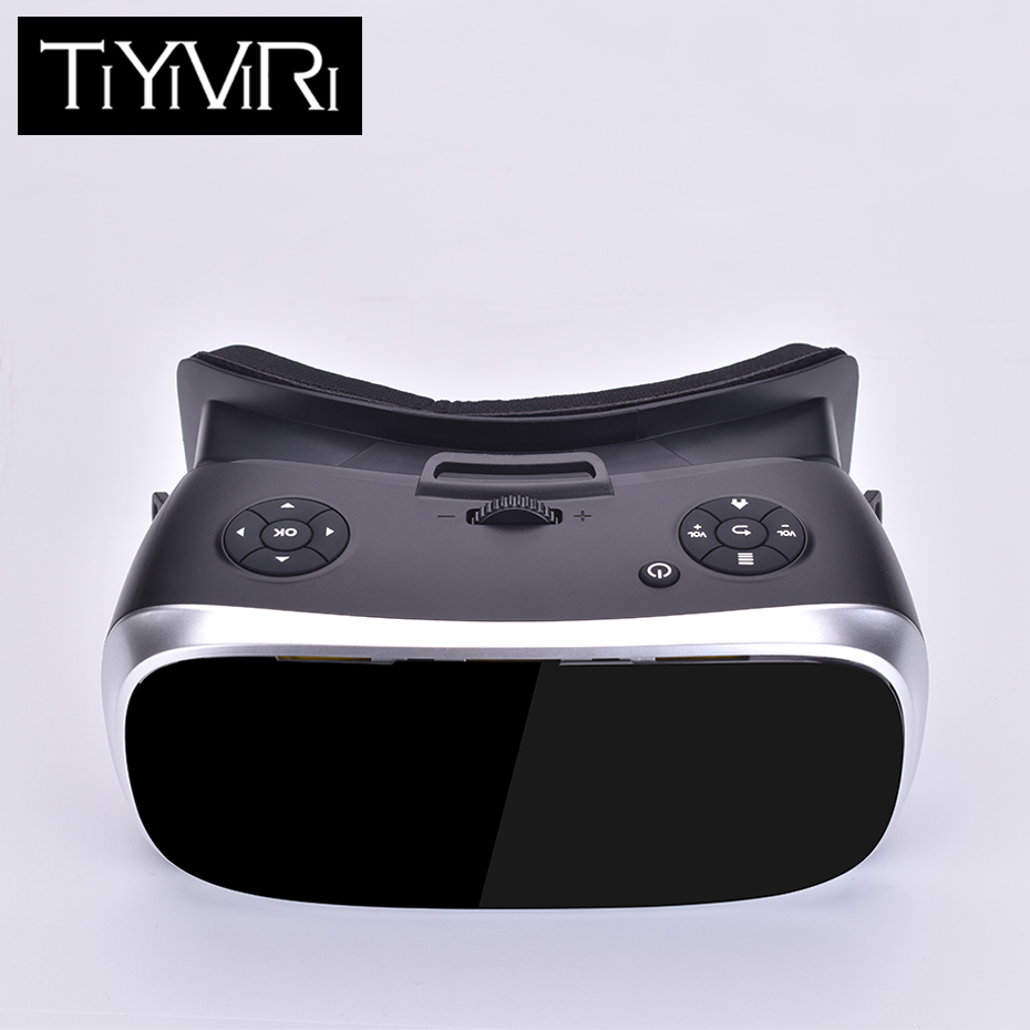 VR All-in-one Virtual Reality Headset 3D 2560*1440 Headset for PS4 one Game Console Android 5.1 4000mAh High Capacity image