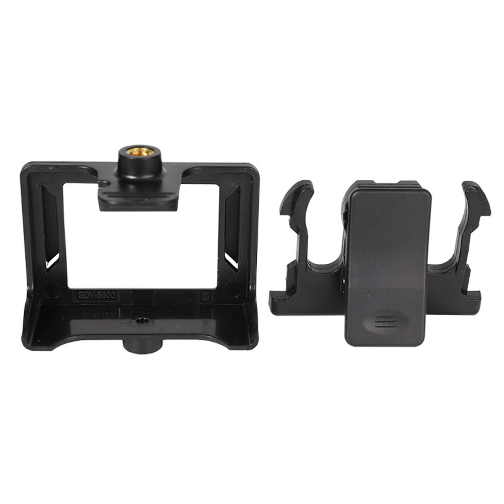 Protective Easy Install Mount Practical Portable Belt Accessories Camera Backpack Clip Frame Case Sport Action For SJ4000 SJ9000