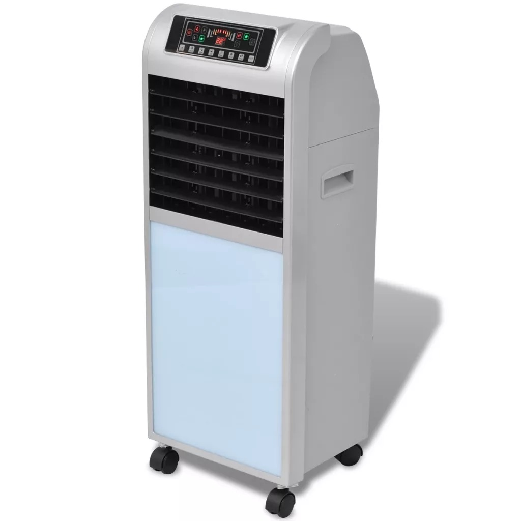 VidaXL Portable 3-In-1 Air Conditioner Conditioning Fan Humidifier Cooler Cooling 220-240 V Air Conditioner Timed Cooling Fan