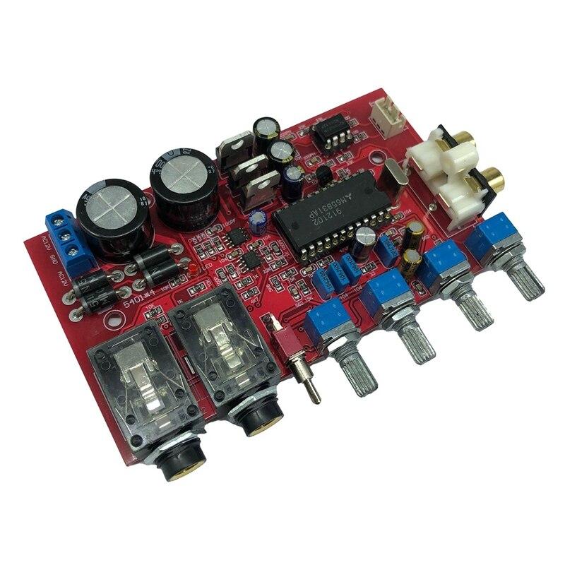 M65831AP Karaoke Pre-Board NE5532 Audio Dedicated Operational Amplifier IC AC12V-15V Dual-Voltage Pre-Board