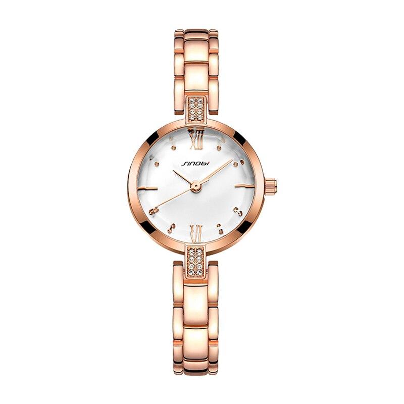 2019 New Women Watch Rhinestone Fashion Jewelry Chain Bracelet Waterproof Small Quartz WristWatches Ladies Watch Female Watch