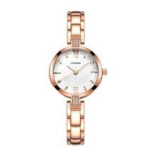 New Women Watch Rhinestone Fashion Jewelry Chain Bracelet Wa