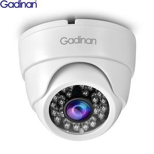 Gadinan AHD 5MP 1080P 720P IR Mini Dome CCTV Camera 1.0MP 2.0MP 5.0MP AHD Camera BNC indoor IR CUT Filter 24LEDS Night Vision(China)
