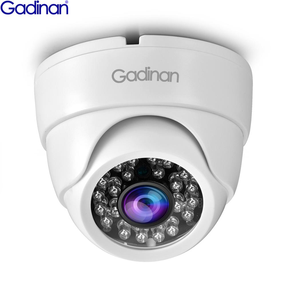Gadinan AHD 720P 1080P 5MP IR Mini Dome Kamera 1.0MP 2.0MP 5.0MP AHD Kamera indoor IR CUT Filter 24LEDS Nachtsicht