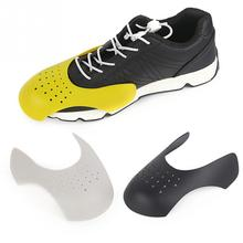 1 пара изгиб трещин обуви Носилки протектор тапки щит носок кепки поддержка универсальный формирователь моющийся легкий анти складки