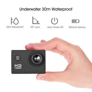 Image 2 - Mini Camera Action Camera 2inch LCD Sport Camera 1280x960P HD 1080P Digital Zoom Diving 30m 90 Angle Lens Sports Action Camera