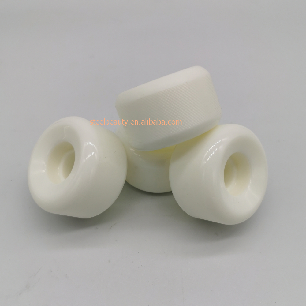 High End Quality Conical Surface Skateboard Wheels 52mm Skate Wheel 102A 85% Rebound 52*32mm
