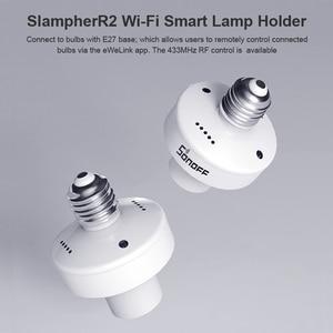 Image 2 - 2/3/4/5pcs SONOFF Slampher R2 Itead 433MHz RF Smart WiFi Light Holder E27 Bulb Holder Interruptor Wifi Switch for Smart Home