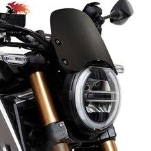 CNC Zubehör Aluminium Motorrad Windschutzscheibe Für HONDA Hornet CB650R CB 650R 2018 2019 Motorrad Wind Bildschirm Extention Kit
