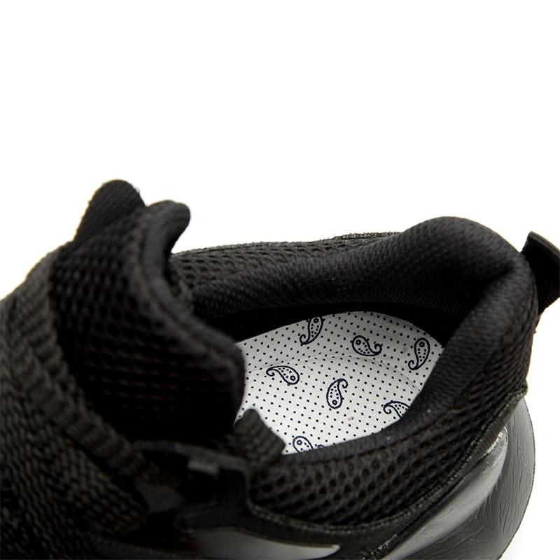 Image 5 - JACKSHIBO Men Safety Work Shoes Boots Male Autumn Steel Toe Boots Anti Smashing Protective Construction Safety Work SneakersWork & Safety Boots   -