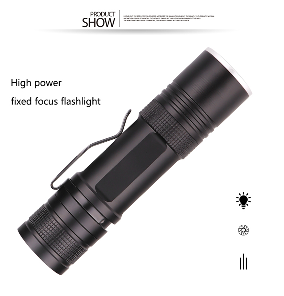 Фонарь led flash светильник xlamp 1*18650 или 26650 перезаряжаемый
