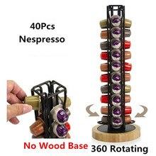 Nespresso Coffee Capsule Pod Tower Stand Holder Dispenser Fits Storage Filter