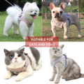 cat clothes dog accessories Dog collar pet Dog leash dog harness dog supplies cat accessories Clothing for cats