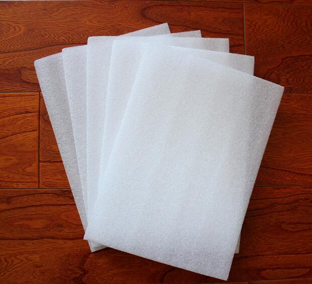 5mm Cushion White EPE Foam Sheet Low Density Polyethylene Packing Material 210*297mm 10/20/30pcs You Choose Quantity