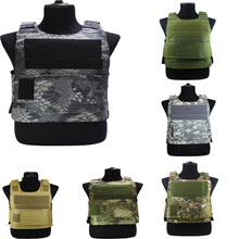 Tactical-Vest Airsoft Armor-Plate Waistcoat Combat Hunting-Protection Military-Molle