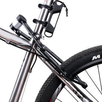 Stalowy rower składany blokada kompaktowa blokada do roweru Heavy Duty rowerowy łańcuch bezpieczeństwa hasło zamki EDF88 tanie i dobre opinie Other