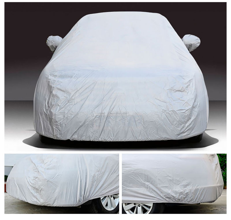 Car Cover Sedan SUV Tent Covers Sun Reflective Shade Rain Frost Snow Dust Waterproof Protection Anti UV Outdoor Car Accessories (12)
