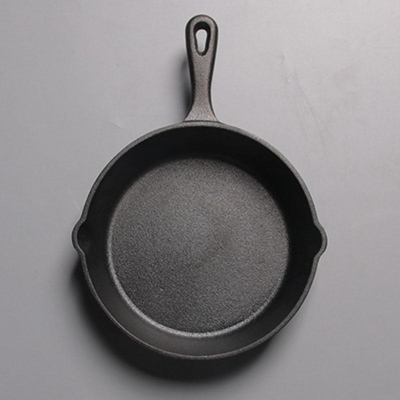 Not Sticky Frying Pan Cast Iron Pan Stone Layer Frying Pot Saucepan Cooker Egg Pancake Pot Use Gas And Induction Cookware