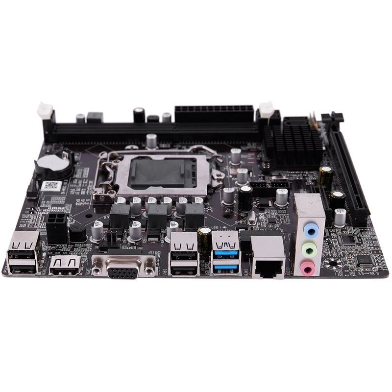 PPYY NEW -B75 LGA 1155 Desktop Computer Mainboard With SATA II USB3.0/2.0 PCI-E X16 16G DDR3 1600 Motherboard