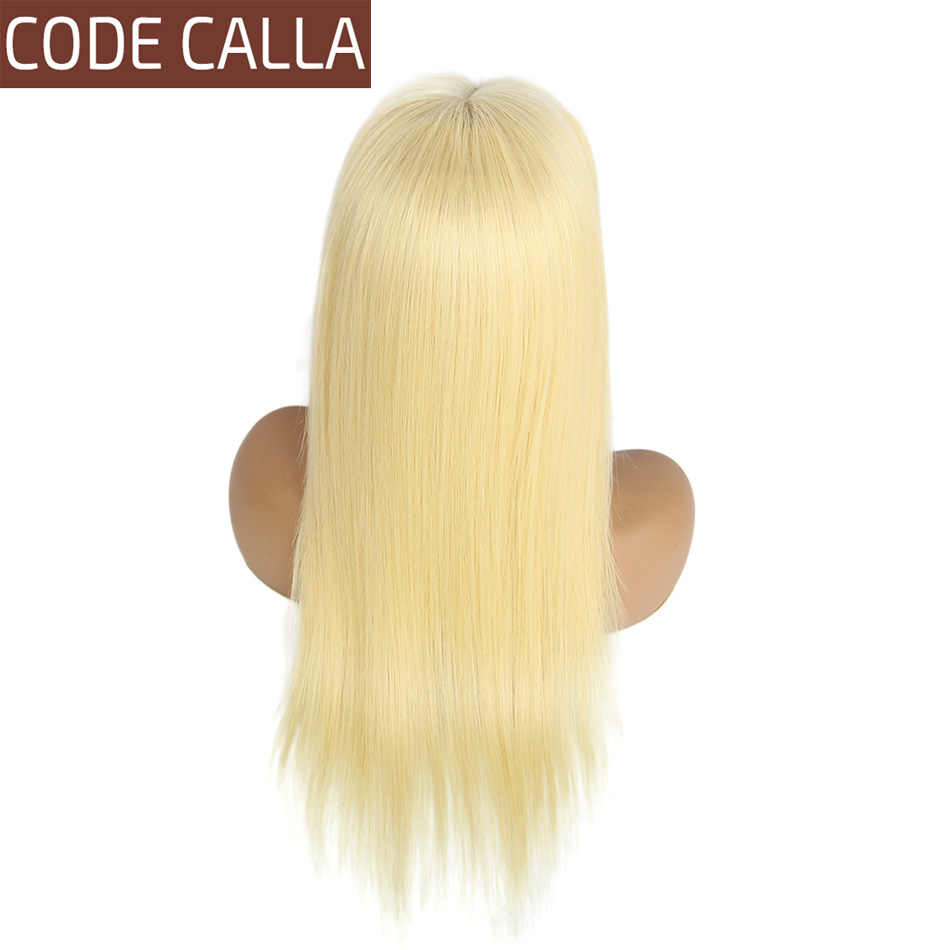613 Honey Blonde Straight Lace Front Human Hair Wigs for Women Gluless 13*4 Lace Frontal Wig and 4*4 Lace Closure Wig Preplucked