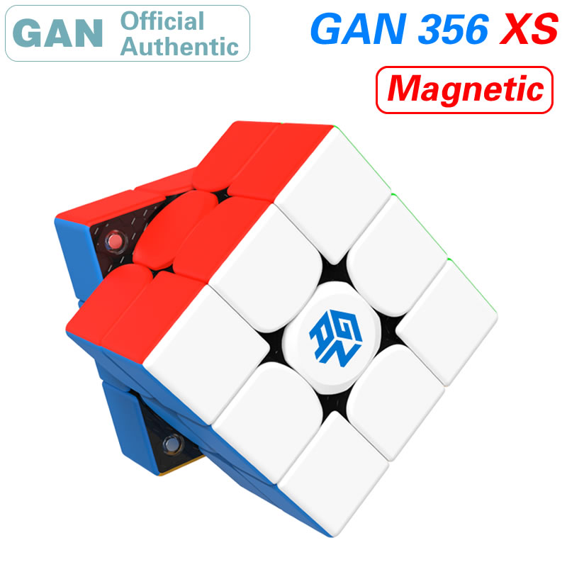 GAN 356 XS 3x3x3 Super Smart Magnetic Magic Cube Puzzles 3x3 GAN356/GAN356XS/356XS Magnets Professional Speed Educational Toys