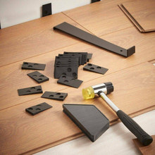 Аксессуары для установки деревянного пола, инструмент для ламинирования, комплект для установки деревянного пола с 20 отверстиями для дерев...