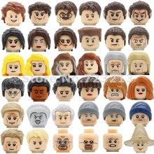 TV Series Breaking Bad Kill Bill Figure Head Face Spock TPol Uma Thurman Building Blocks Model Bricks Toys