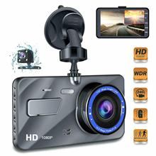 Full HD 1080P 4 IPS Car DVR Vehicle Dashboard Camera with Infrared Night Vision Video Recorder G-Sensor USB Dash Cam Car DVRs jado d800s x6 stream rearview mirror ldws gps track 10 ips touch screen full hd 1080p car dvrs dash cam