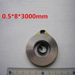 Дешевые плоские маленькие часы с постоянной пружиной, спиральная пружина питания, (0,6-0,8) мм толщина *(5-10) мм ширина *(1800-3000) мм длина