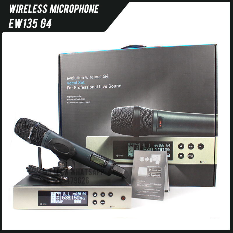 EW135G4 EW100G4 EW 100 G4 Wireless Microphone System With E835S Haneheld Microphone For Sennheiser Microphone EW 135 G4