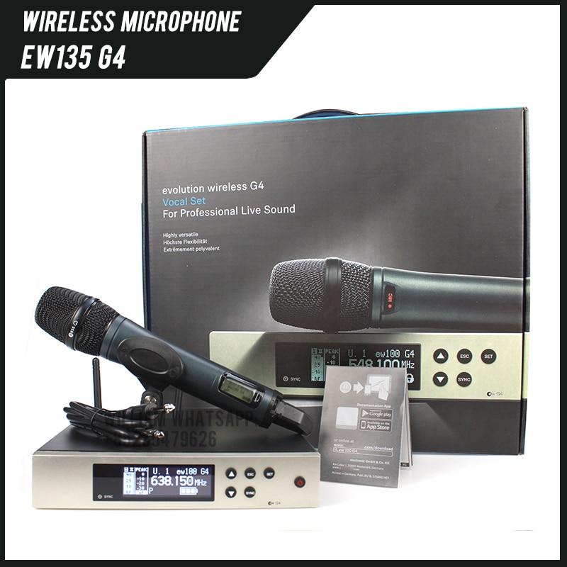 EW135G4 EW100G4 EW 100 G4 Wireless Microphone System With E835S Haneheld Microphone For Sennheiser Microphone EW 135 G4