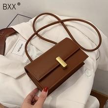 [BXX] PU Leather Crossbody Bags For Women 2020 Autumn Winter