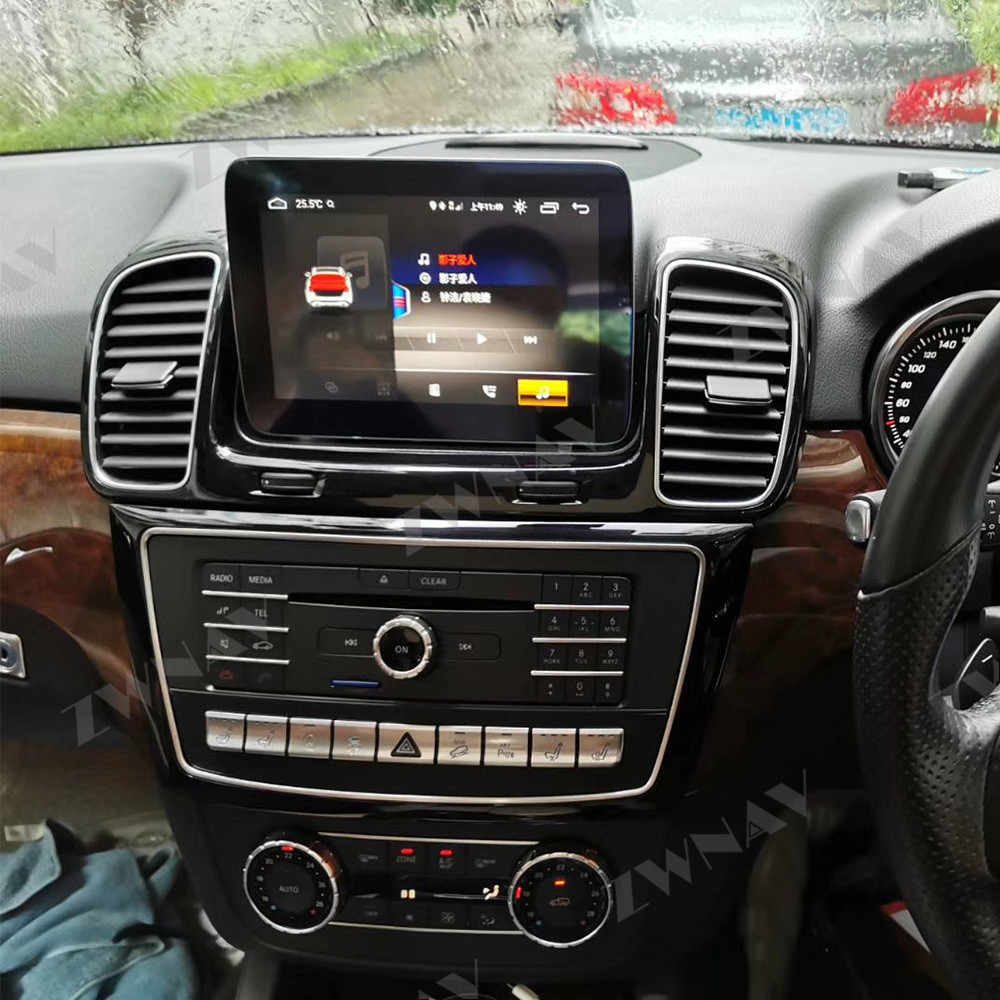 Android 9.0 4 + 64G Android Display Voor Mercedes Benz Gle W166 2015-2018 Dvd Video Player Multimedia gps Navigatie Radio Tape