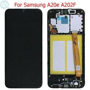 """Original A20E LCD For Samsung Galaxy A20E Display With Frame 5.8"""" SM-A202F A202DS A202F/DS LCD Screen Touch Screen Assembly(China)"""