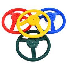 Gym-Accessories Jungle Playhouse Plastic Children 10inch Kids Steering-Wheel