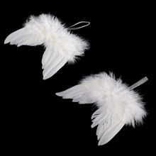 Photo-Props Photography-Accessories Newborn Baby-Boy-Girl Ornaments Angel-Wings White