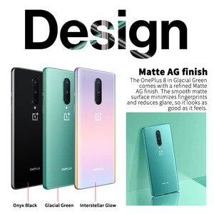 Image 2 - هاتف محمول ون بلس 8 5G أصلي 6.55 بوصة 90 هرتز سنابدراجون 865 ثماني النواة أندرويد 10 NFC هاتف ذكي