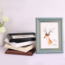 Vintage Photo Frame Family Wedding Graduation Anniversary Birthday Picture Photo Box Wall Frame 6/8/10 Home Decor D30 giftgarden 5x7 silver alloy classic crown photo frames vintage picture frame table decoration anniversary gift wedding decor