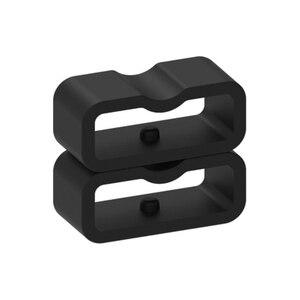 Image 3 - Ecsem 16mm רצועת Keeper לכבוד 4 להקת סיליקון לולאה שעון החלפה התמך חישוק גומי מקדמה בעל ביטחון