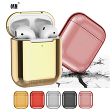 High Quality Protective Cover For Airpods 2 Anti-fingerprint Charging Box Shockproof Case Apple Air Pods Earphone