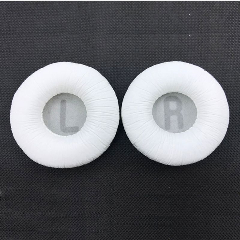 1 Pair Replacement Foam Ear Pads Pillow Cushion Cover For JBL Tune600 T500BT T450 T450BT JR300BT Headphone Headset 70mm EarPads