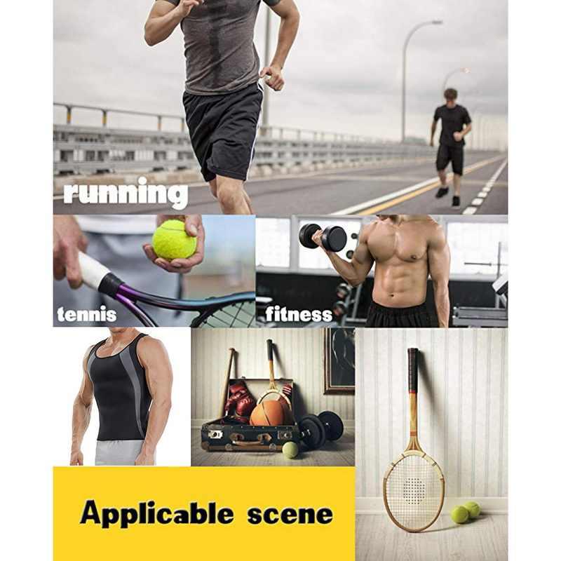 Colete de neoprene masculino para sauna, camisa para treino de cintura, perda de peso, molda o corpo, 2020 tanques de tanques