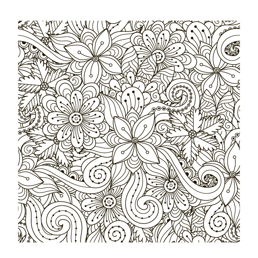 Floral Element Clear Stamps For DIY Scrapbooking/Card Making/Album Decorative Rubber Stamp Crafts