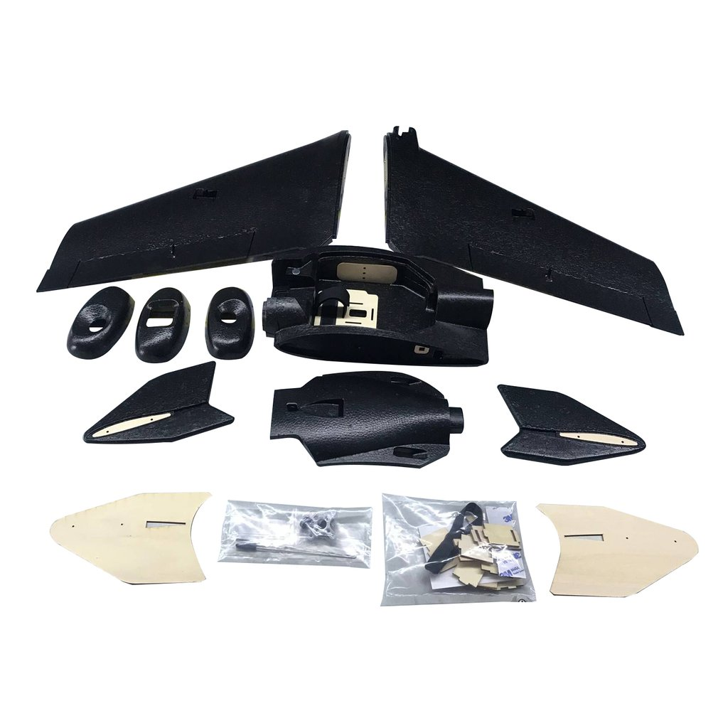 ZOHD SonicModell AR Wing 900mm EPP Wingspan RC FPV Airplane Fixed Wing Glider Drone Plane Model with 80+km/h Upgrade Version KIT image