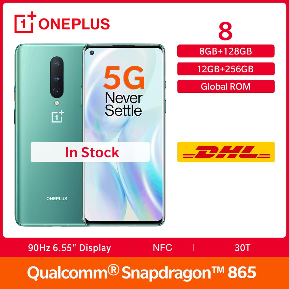 In Stock New OnePlus 8 5G Global Rom Snapdragon 865 90Hz 6.55