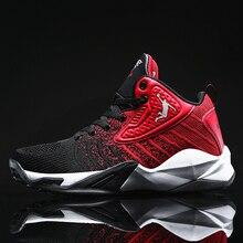 Zapatillas altas de baloncesto Jordan para hombres Zapatillas de baloncesto transpirables Mujeres Zapatillas deportivas ligeras a prueba de golpes de Jordan Hombres