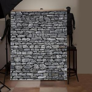 Image 5 - Brick Stone Texture Wall Photography Backdrops Wooden Floor Backgrounds for Toy Photo Studio Baby Shower Newborn Children Photo